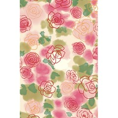 Aquarelle Pink Flower  5 5  X 8 5  Notebooks by Brittlevirginclothing