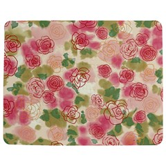 Aquarelle Pink Flower  Jigsaw Puzzle Photo Stand (rectangular) by Brittlevirginclothing