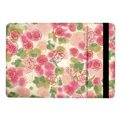 Aquarelle Pink Roses Samsung Galaxy Tab Pro 10 1  Flip Case by Brittlevirginclothing
