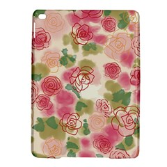 Aquarelle Pink Roses Ipad Air 2 Hardshell Cases by Brittlevirginclothing