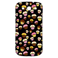 Jammy Cupcakes Pattern Samsung Galaxy S3 S Iii Classic Hardshell Back Case by Valentinaart