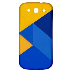 Box Yellow Blue Red Samsung Galaxy S3 S Iii Classic Hardshell Back Case by Jojostore
