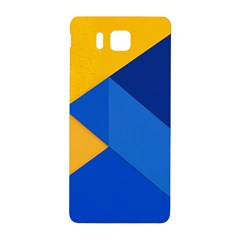Box Yellow Blue Red Samsung Galaxy Alpha Hardshell Back Case by Jojostore