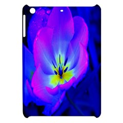 Blue And Purple Flowers Apple Ipad Mini Hardshell Case by Jojostore