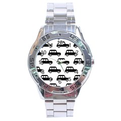 Car Stainless Steel Analogue Watch by Jojostore