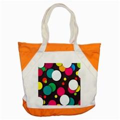 Color Balls Accent Tote Bag by Jojostore