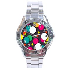 Color Balls Stainless Steel Analogue Watch by Jojostore