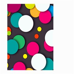 Color Balls Small Garden Flag (two Sides) by Jojostore