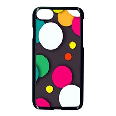 Color Balls Apple Iphone 7 Seamless Case (black) by Jojostore