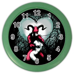 Happily Ever After Color Wall Clocks by lvbart