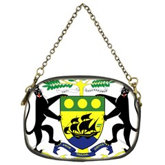 Coat Of Arms Of Gabon Chain Purses (one Side)  by abbeyz71