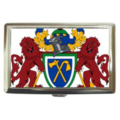 Coat Of Arms Of The Gambia Cigarette Money Cases by abbeyz71