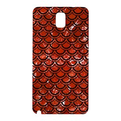 Scales2 Black Marble & Red Marble (r) Samsung Galaxy Note 3 N9005 Hardshell Back Case by trendistuff