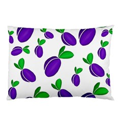 Decorative Plums Pattern Pillow Case (two Sides) by Valentinaart