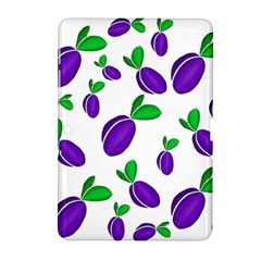 Decorative Plums Pattern Samsung Galaxy Tab 2 (10 1 ) P5100 Hardshell Case  by Valentinaart