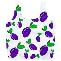 Decorative Plums Pattern Full Print Recycle Bags (l)  by Valentinaart