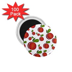Peaches Pattern 1 75  Magnets (100 Pack)  by Valentinaart