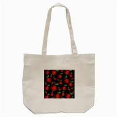 Peaches Tote Bag (cream) by Valentinaart