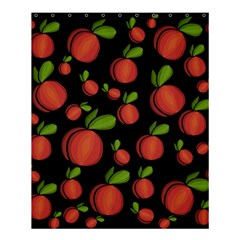 Peaches Shower Curtain 60  X 72  (medium)  by Valentinaart