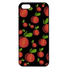 Peaches Apple Iphone 5 Seamless Case (black) by Valentinaart