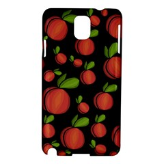 Peaches Samsung Galaxy Note 3 N9005 Hardshell Case by Valentinaart