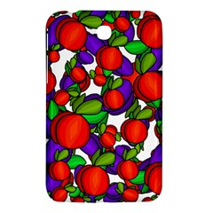 Peaches And Plums Samsung Galaxy Tab 3 (7 ) P3200 Hardshell Case  by Valentinaart