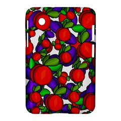 Peaches And Plums Samsung Galaxy Tab 2 (7 ) P3100 Hardshell Case  by Valentinaart