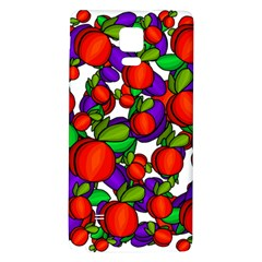 Peaches And Plums Galaxy Note 4 Back Case by Valentinaart