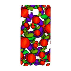 Peaches And Plums Samsung Galaxy Alpha Hardshell Back Case by Valentinaart