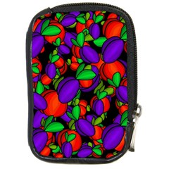 Plums And Peaches Compact Camera Cases by Valentinaart