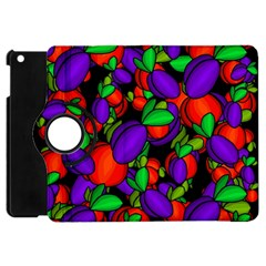 Plums And Peaches Apple Ipad Mini Flip 360 Case by Valentinaart