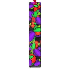Plums And Peaches Large Book Marks by Valentinaart