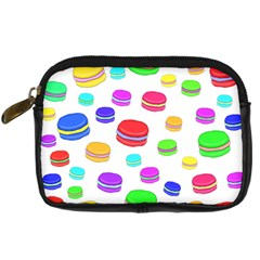 Macaroons Digital Camera Cases by Valentinaart