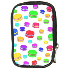 Macaroons Compact Camera Cases by Valentinaart