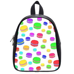 Macaroons School Bags (small)  by Valentinaart