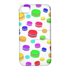 Macaroons Apple Iphone 4/4s Hardshell Case With Stand by Valentinaart