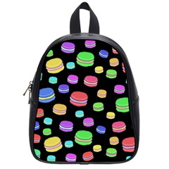 Colorful Macaroons School Bags (small)  by Valentinaart
