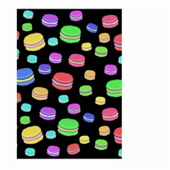 Colorful Macaroons Large Garden Flag (two Sides) by Valentinaart