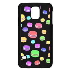 Colorful Macaroons Samsung Galaxy S5 Case (black) by Valentinaart