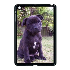 Puppy Staffordshire Bull Terrier Apple iPad Mini Case (Black) by TailWags