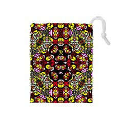 Queen Design 456 Drawstring Pouches (medium)  by MRTACPANS