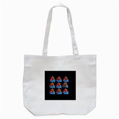 Queen Mrtacpans Two 5 Tote Bag (white) by MRTACPANS