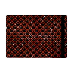 Scales2 Black Marble & Red Marble Apple Ipad Mini 2 Flip Case by trendistuff