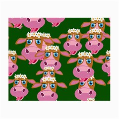 Cow Pattern Small Glasses Cloth by Jojostore