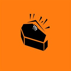 Creepy Skeleton Hand Coming Magic Photo Cubes by Jojostore