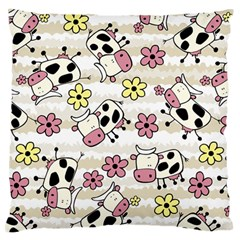 Cow Animals Standard Flano Cushion Case (one Side)