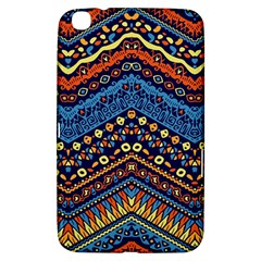 Cute Hand Drawn Ethnic Pattern Samsung Galaxy Tab 3 (8 ) T3100 Hardshell Case  by Jojostore