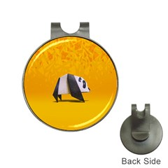 Cute Panda Hat Clips With Golf Markers by Jojostore