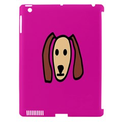 Face Dog Apple Ipad 3/4 Hardshell Case (compatible With Smart Cover) by Jojostore