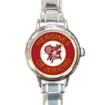 Heroines of Jericho Round Italian Charm Watch